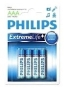 Baterie alkaliczne Extremelife AAA (LR 03) Philips blister