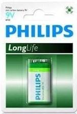 Bateria Longlife 6F22 (R 9) Philips