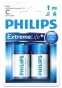 Baterie alkaliczne Extremelife C (LR 14) Philips blister