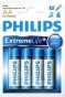 Baterie alkaliczne Extremelife AA (LR 6) Philips blister